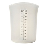 silicone measure cup